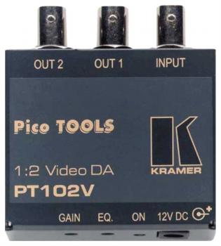 Distributeur video 2 voies KRAMER PT-102 V