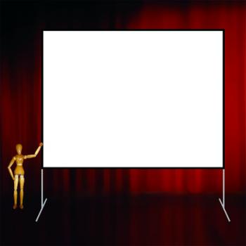 Ecran cadre 4:3 de 508x386cm Stumpfl Monoblox