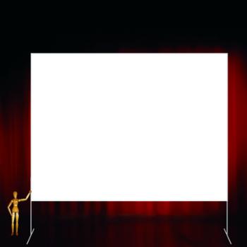 Ecran cadre 4:3 de 800x600cm Stumpfl Vario