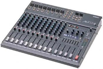 Console analogique 12V Yamaha MX 12/4 (8 mono - 2 ST - 3 AUX)