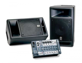 Enceinte amplifiée Yamaha Stagepass 300