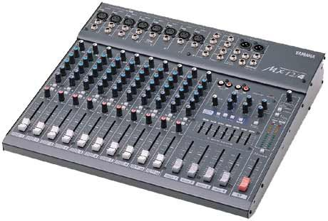 Console analogique 12v yamaha mx 12 4 8 mono 2 st 3 aux la location audiovisuelle auvico - Table de mixage amplifiee yamaha ...