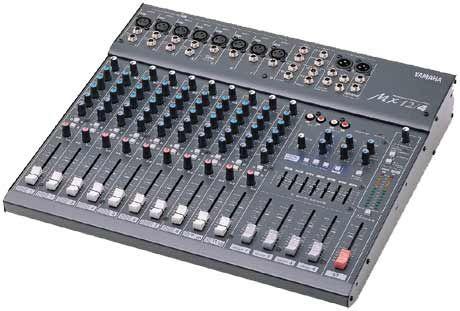 Console analogique 12v yamaha mx 12 4 8 mono 2 st 3 for Table de mixage yamaha 6 pistes