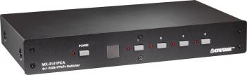 Selecteur numérique VGA + Audio 4 in / 1 out